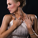 Alternate image 1 for Diamond Bracelet In Rose Gold By Lanae