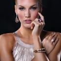 Alternate image 2 for Diamond Bracelet In Rose Gold By Lanae