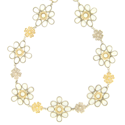 Closeup image for View Triple Ring Rollo Necklace - 34 By Cynthia Ann Jewels