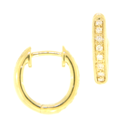 Closeup image for View Classic Antique In And Out Hoop Earrings By Cynthia Ann Jewels