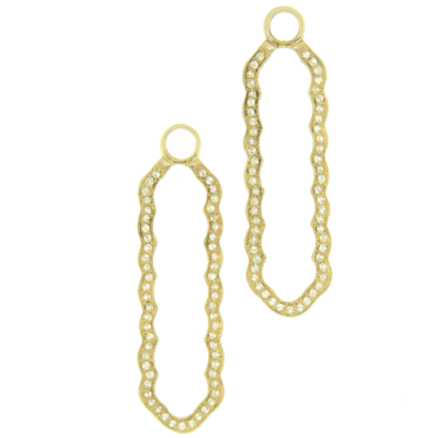A stunning handpicked Andover Frame Earring Charms by designer Cynthia Ann Jewels
