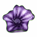 Alternate image 1 for Purple Sea Shell Glass Bowl By Blown Glass