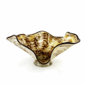 Alternate image 1 for Anaconda Glass Bowl By Blown Glass