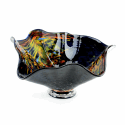 Alternate image 1 for Monet Glass Bowl By Blown Glass