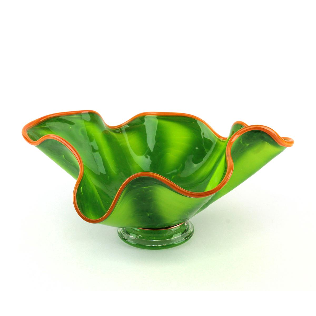 Green Tree Frog Glass Bowl - alternate