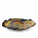 Alternate image 1 for Afremov Impressionism Glass Platter By Blown Glass