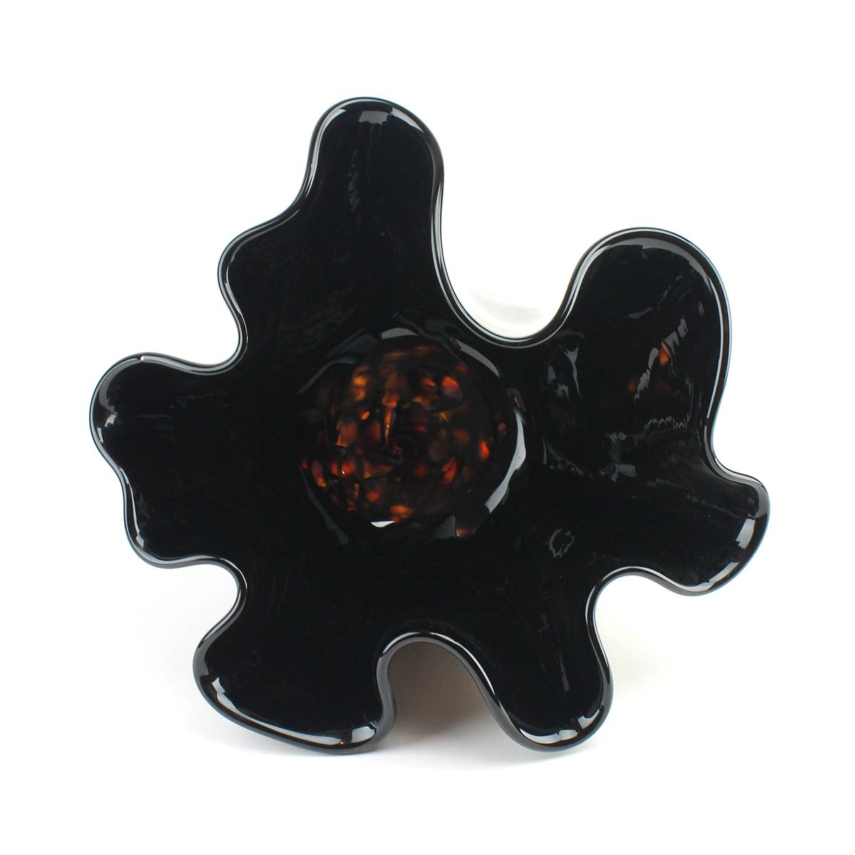 Little Black Van Gogh Glass Bowl - alternate