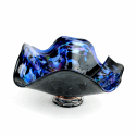 Alternate image 1 for Far Away Galaxy Glass Bowl By Blown Glass