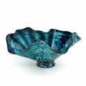 Alternate image 1 for Deep Seaweed Glass Bowl By Blown Glass