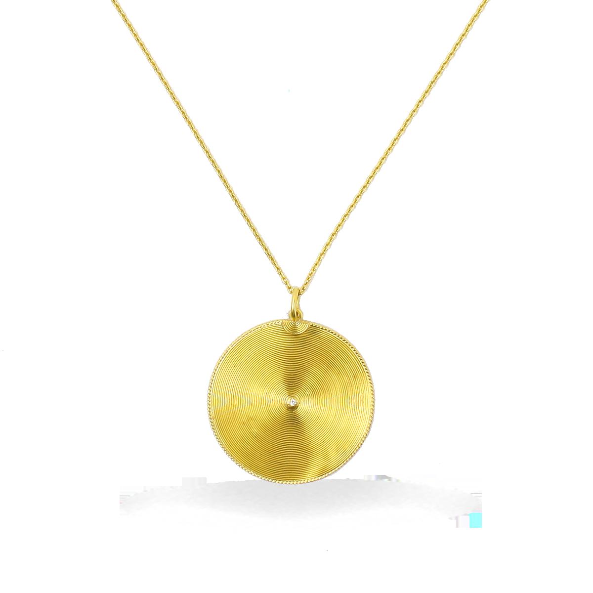Kurtulan handgemachte gewickelt 24k Golddraht Platten Anhänger mit ...