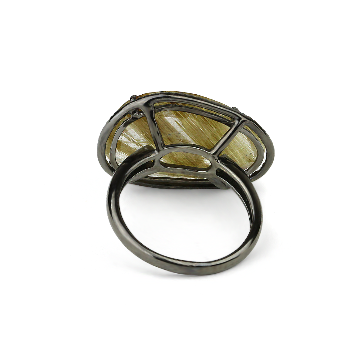 Kurtulan Rutilated Quartz Ring - alternate
