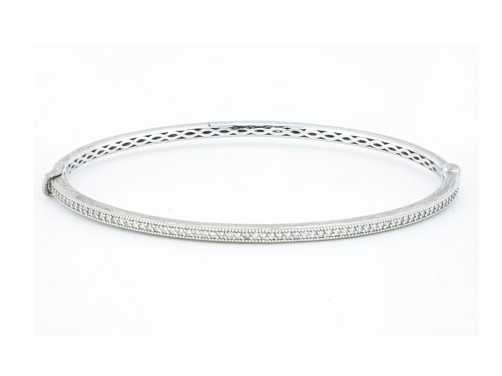 diamond classica pave zoom bracelet tcw bangles bangle