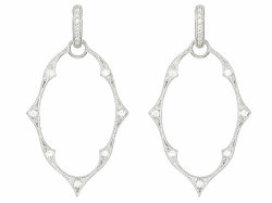 Closeup image for View Earrings With Diamonds  By Fope