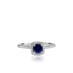 Closeup image for View Sapphire Wave Ring By Lanae