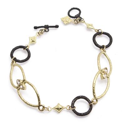 Armenta Old World Open Shield Link Bracelet 00AYuRnUS
