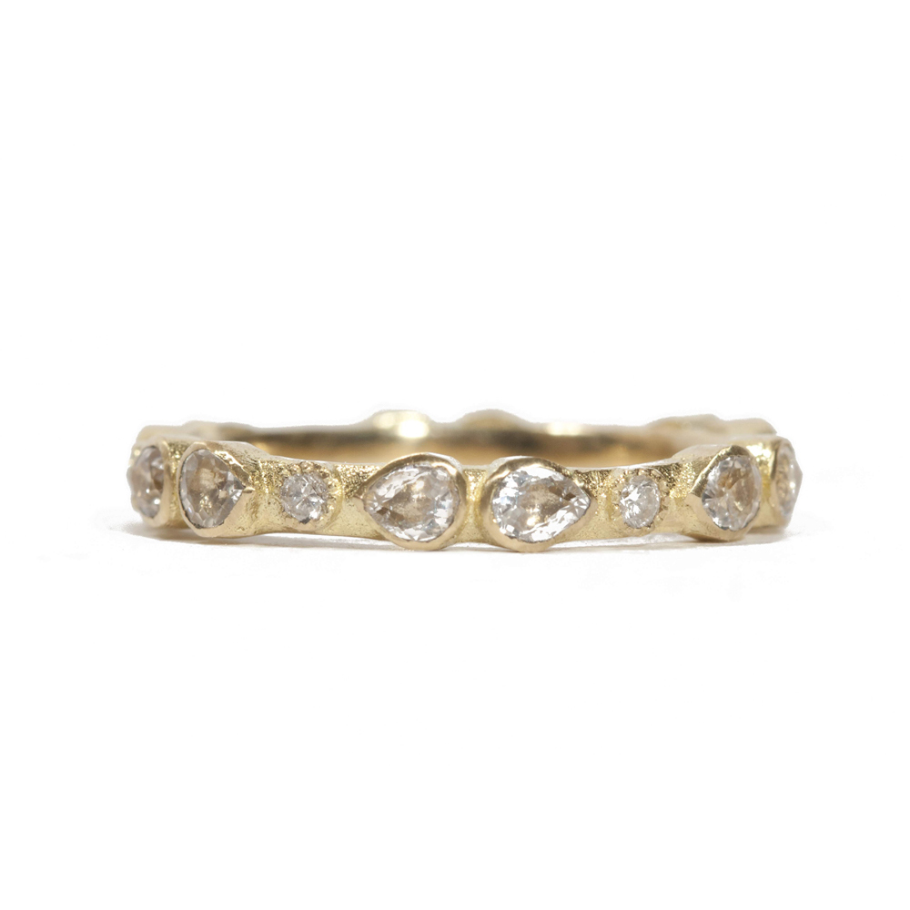 Armenta Scattered Diamond Ring Mb4ZnMvnUR