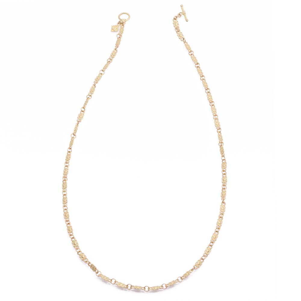 Petite Butterfly Link Necklace - 20 Inch - alternate