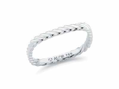18kt. White Gold. Imported. - 02-08-1004-00
