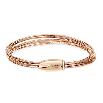 Pesavento Bracelet for Women, Golden Rose, Silver, 2017, One Size