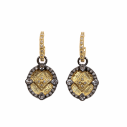 Closeup image for View 18K Yellow Gold Earring - 05868 By Armenta