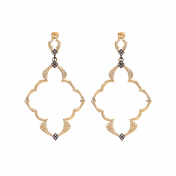 Closeup image for View 18K Yellow Gold Earring - 11721.0 By Armenta