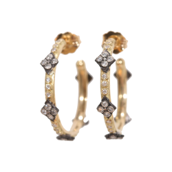 Closeup image for View 18K Yellow Gold Earring - 11723.0 By Armenta