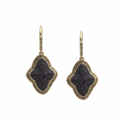 Closeup image for View Drop Earring With Sapphire By Armenta