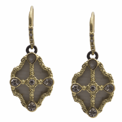 Closeup image for View Oval Artifact Earring By Armenta