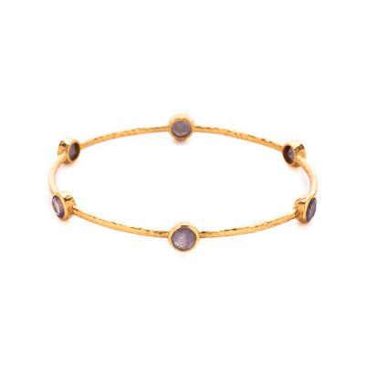 Milano 6-Stone Bangle - alternate