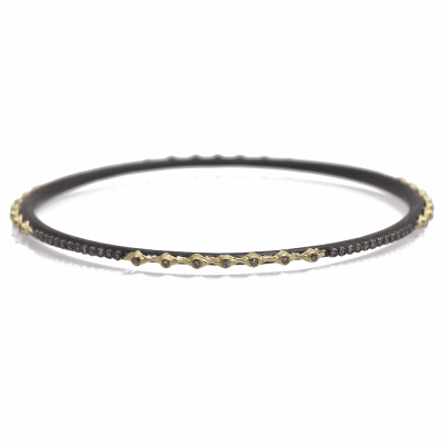 gold bangle p certified bangles single natural eternity line diamond solid