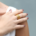 Alternate image 1 for Valencia Stacking Ring By Julie Vos