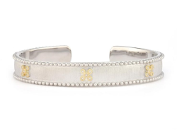 Closeup image for View Provence Champagne Medium Cobblestone Cuff By Jude Frances