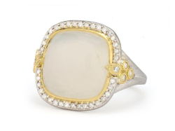 Closeup image for View Small Moroccan Diamond Tips Stone Ring By Jude Frances