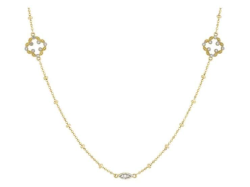 Closeup image for View Lisse Cushion Stone Alternating Chain By Jude Frances