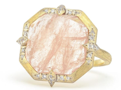 Closeup image for View Large Moroccan Stone Ring - R025q-Mg-Wd-6.5-Y By Jude Frances