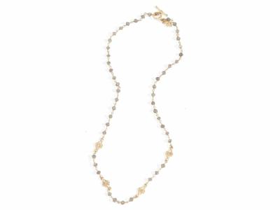 Collection: Sueno Style #: 9649 Description: Sueno 18k yellow gold artifact pear scroll enhancer with white diamonds.Metal: 18k Yellow Gold