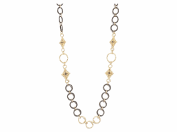 Closeup image for View Champagne Diamond Necklace - 12454 By Armenta