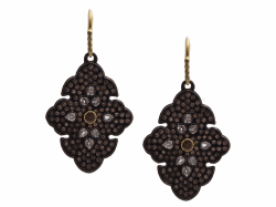 Closeup image for View Champagne Diamond Earring - 13462 By Armenta