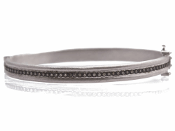 Closeup image for View Flex'it White Gold Bracelet With Diamonds By Fope