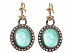 Closeup image for View Green Turquoise Earring - 03780 By Armenta