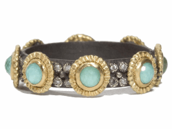 Closeup image for View Green Turquoise Ring - 04966 By Armenta