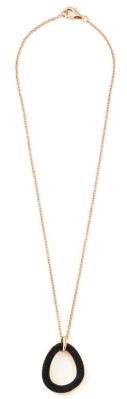 Polvere Di Sogni Pendant Necklace. Sterling Silver with an 18K Rose Gold Vermeil.