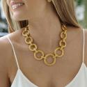 Alternate image 2 for Paradise Large Link Necklace By Julie Vos