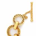 Alternate image 3 for Paradise Large Link Necklace By Julie Vos