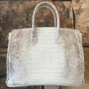 Alternate image 10 for Anna 30 Ombre Caiman Crocodile By Lanae Exotic Handbags
