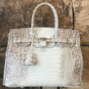 Alternate image 11 for Anna 30 Ombre Caiman Crocodile By Lanae Exotic Handbags
