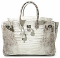 Alternate image 1 for Anna 30 Ombre Caiman Crocodile By Lanae Exotic Handbags