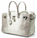 Alternate image 2 for Anna 30 Ombre Caiman Crocodile By Lanae Exotic Handbags