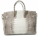 Alternate image 3 for Anna 30 Ombre Caiman Crocodile By Lanae Exotic Handbags
