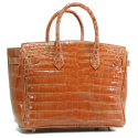 Alternate image 2 for Anna 30 - Orange Saltwater Crocodile By Lanae Exotic Handbags